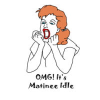 OMG! It's Matinee Idle - Woman's Tee Design