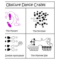 Obscure Dance Crazes Design
