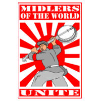 MIDLERS OF THE WORLD UNITE Design